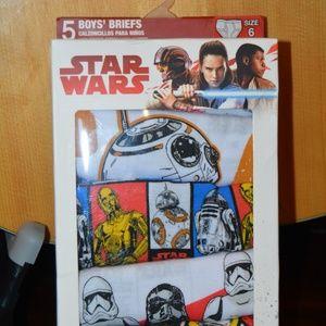 Star Wars Boy's Briefs